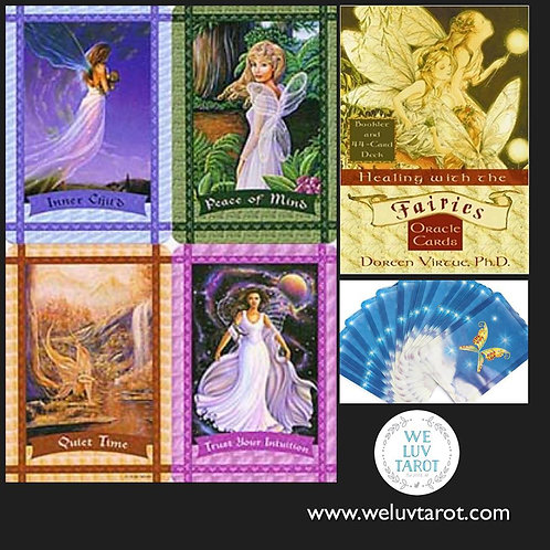 Healing with the Fairies Oracle Cards