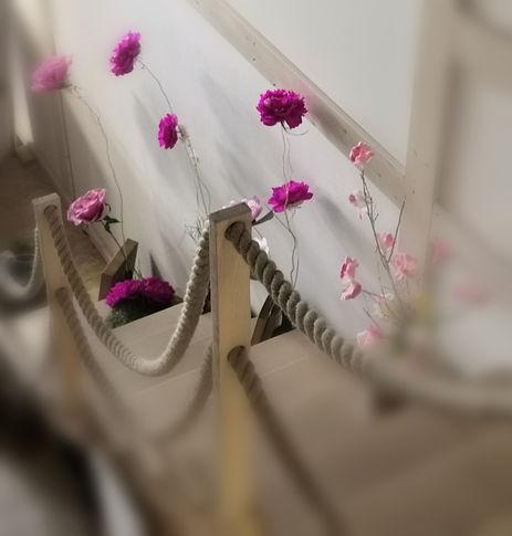 #paperflowerbackdrop # crepepaper #giant
