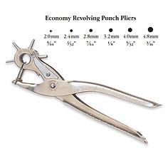 Economy Revolving Punch Pliers NC12714.j