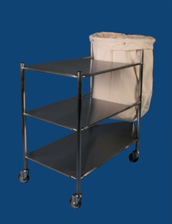 CLEAN AND SOILED LINEN TROLLEYS
