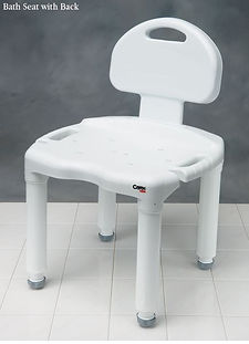 Carex Universal Bath Seat with Back NC28