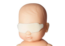 Phototherapy Eye Protectors with Adhesiv
