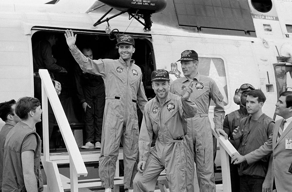 NASA: Apollo 13 crew return home safely