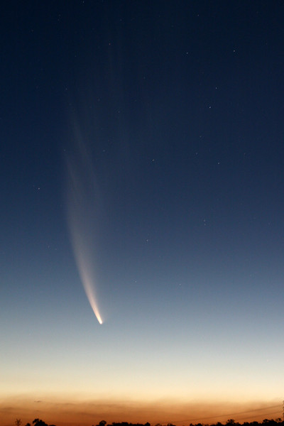 Comet McNaught by Geoff Wyatt 2007
