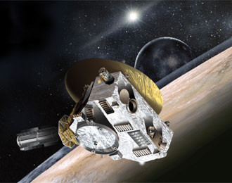 New Horizons - artwork credit NASA