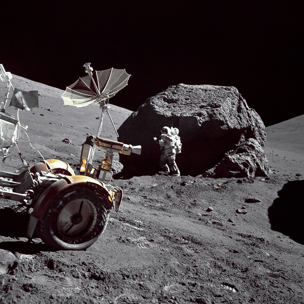 Apollo 17, credit  NASA