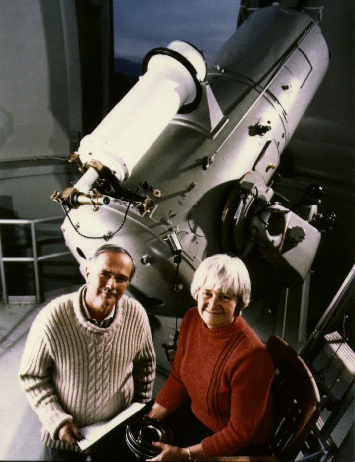 Carolyn & Gene Shoemaker, comet observers