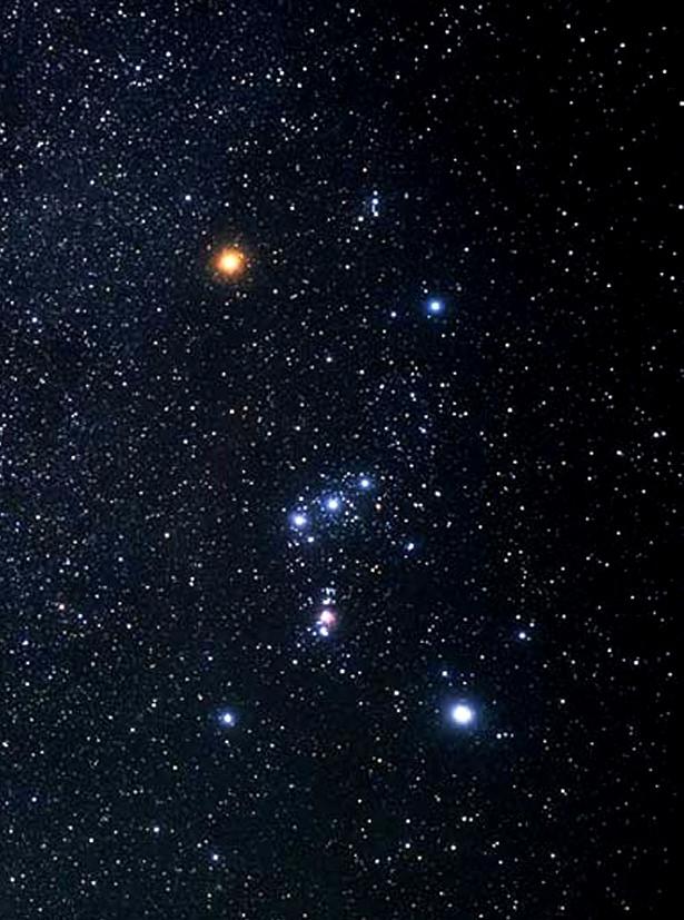 Orion, Image by Hubble, ESA, Akira Fujii