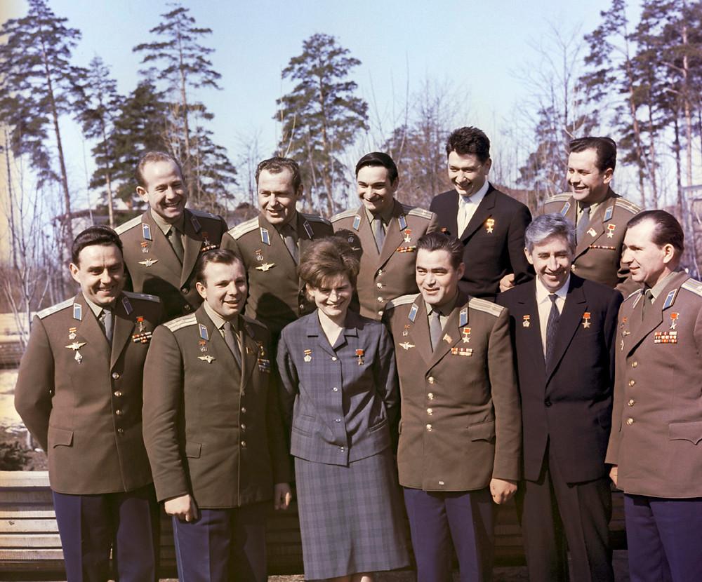 Cosmonauts including Alexei Leonov