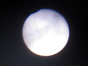 Shallow Solar eclipse