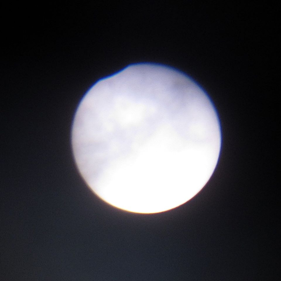 Image 1 - eclipse at maximum N. Lomb 13 July 2018