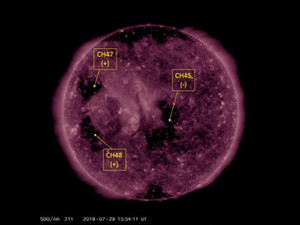 Solar Observations: August 2019