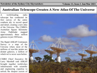 Astronomers Bulletin January to March 2021