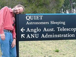 Professor Dick Hunstead, a friend of Sydney Observatory