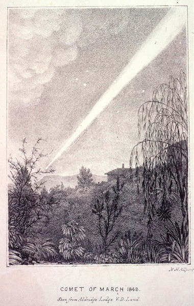 1843 Comet by Mary Morton, NMA