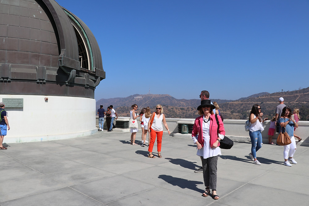 Toner Stevenson at Griffith Observatory Los Angeles