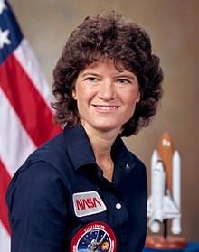 Sally Ride, NASA 1984