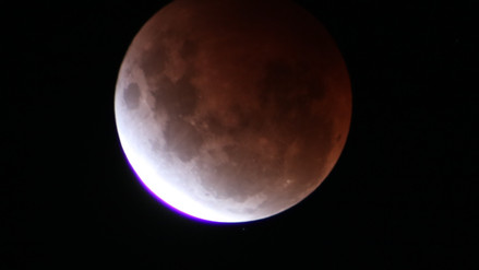 Partial Lunar Eclipse - Sydney 19 November