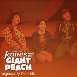 LadyBug in the promo photo for James and the Giant Peach.
