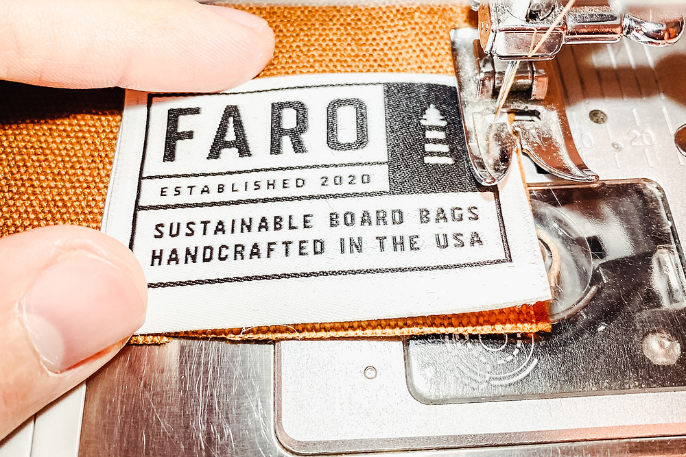 Faro Board Bags are sustainable surfboard bags handcrafted in the USA.