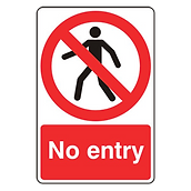 no entry signs