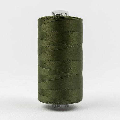 Wonderfil Konfetti 1000M Thread - Pine Green