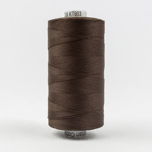Wonderfil Konfetti 1000M Thread - Dark Brown