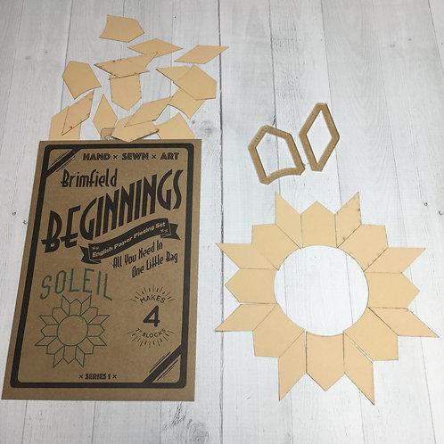 Brimfield Beginnings Soleil - English Paper Piecing Set