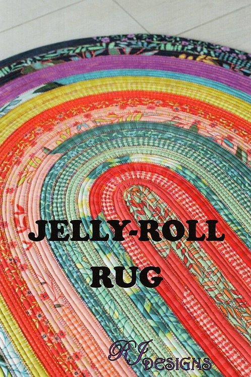 RJ Designs Jelly-Roll Rug Pattern