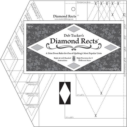 Deb Tuckers -Diamond Rects