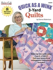 Fabric Cafe - Quick as a Wink 3-Yard Quilts