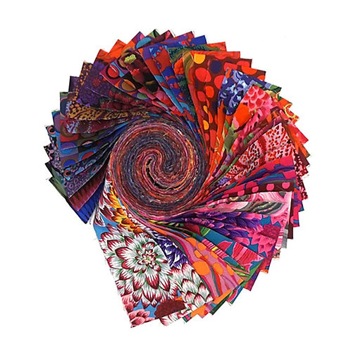 Kaffe Fassett Jelly Roll-HOT
