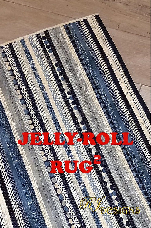 RJ Designs Jelly-Roll Rug2 Pattern