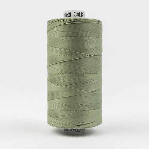 Wonderfil Konfetti 1000M Thread - Grey Khaki