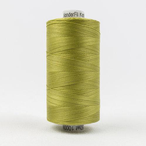 Wonderfil Konfetti 1000M Thread -Brass Green