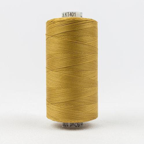 Wonderfil Konfetti 1000M Thread - Dark Gold