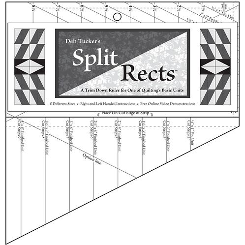 Deb Tuckers -Split Rects