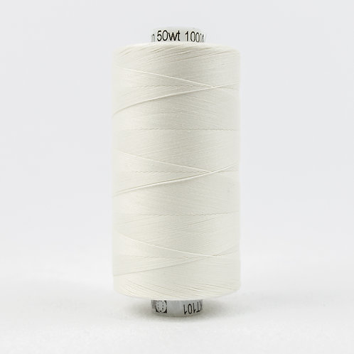 Wonderfil Konfetti 1000M Thread - Soft White