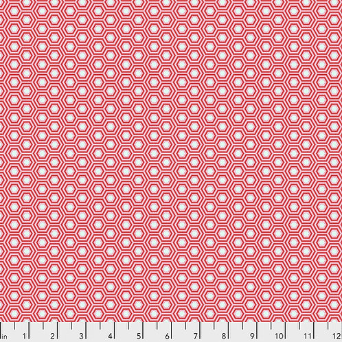Tula Pink Hexy - Flamingo