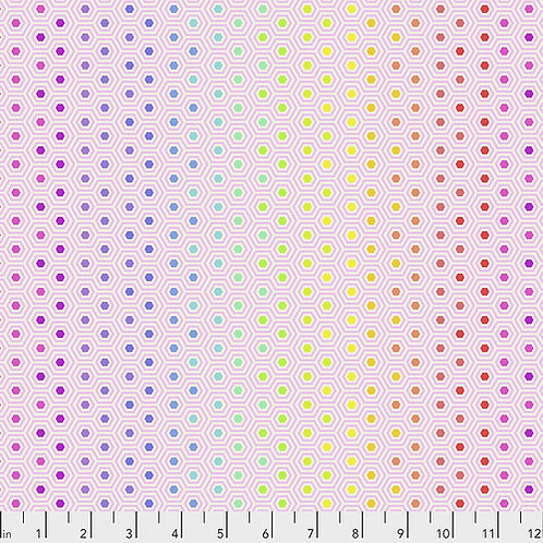 Tula Pink Hexy Rainbow - Shell