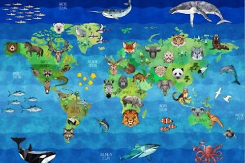 Zoo Keeper by Hoffman -Earth Panel