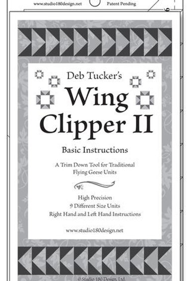 Deb Tuckers -Wing Clipper II