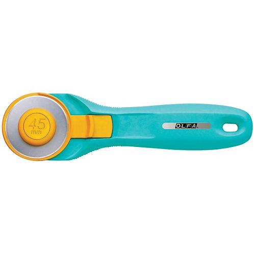 OLFA Quick Change SPLASH Rotary Cutter 45MM - TEAL