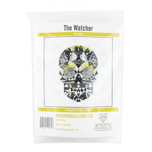 Libs Elliott - Watcher Skull Complete Paper Pieces
