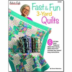 Fabric Cafe - Fast & Fun 3-Yard Quilts