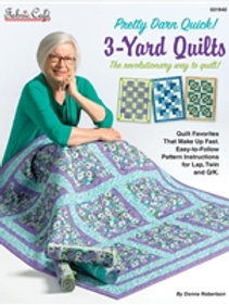 Fabric Cafe - Pretty Darn Quick 3-Yard Quilts