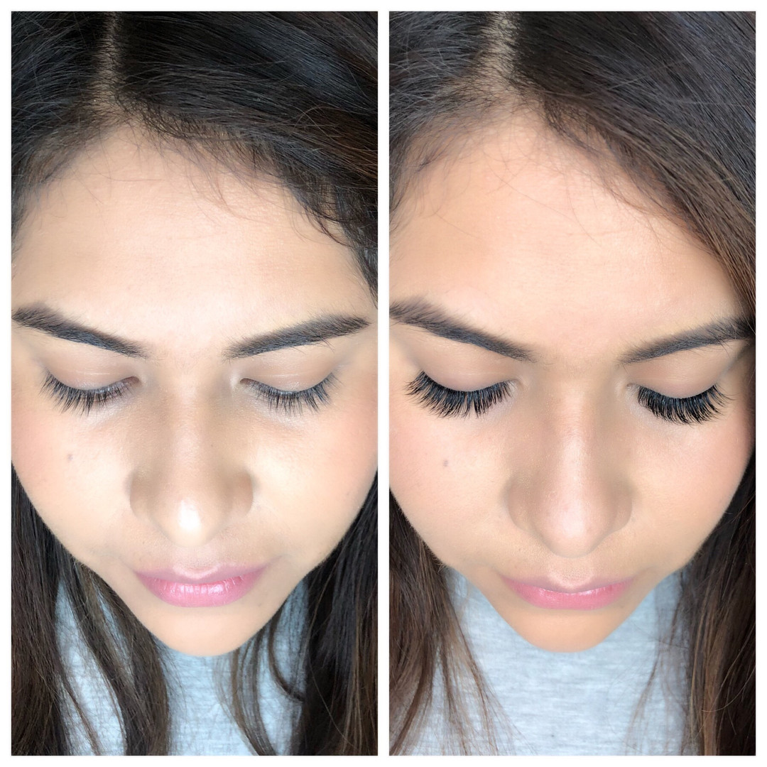 Before & After Classic Lashes