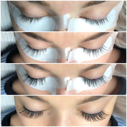 Classic Lashes Application Process