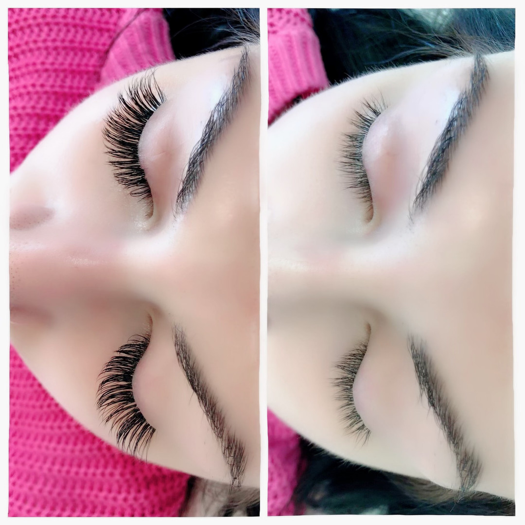 Before & After Classic Lash Extensions