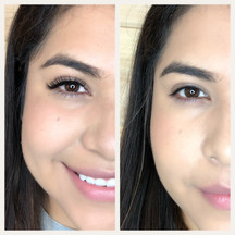Before & After Natural Lashes